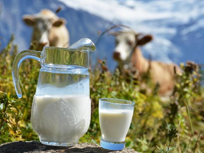 Изображение коровьего молока