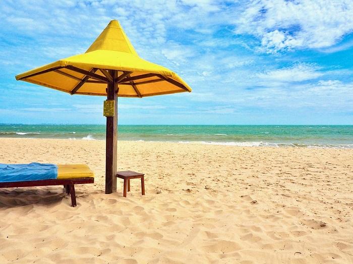 Изображение моря и пляжа