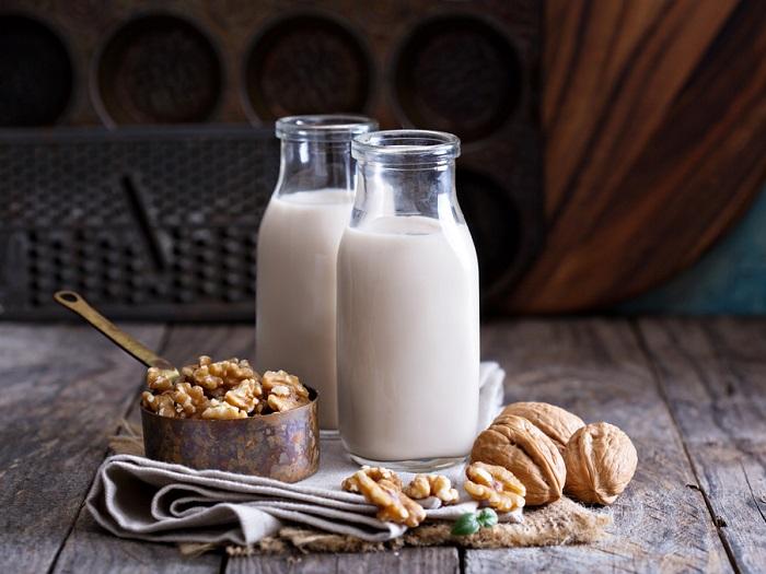 Изображение орехового молока