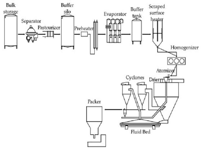 Принцип работы сепаратора для молока