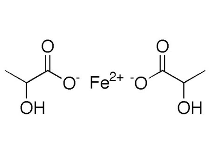 Формула лактата железа